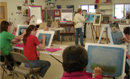 NEW! Classroom Arts Program   CVAC is looking for Artists to Participate
