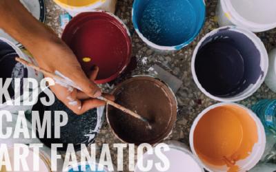 Kids Camp – Art Fanatics Ages 6 – 11