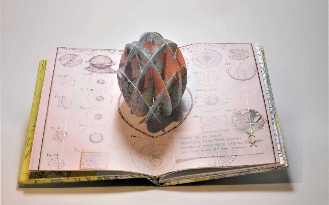 Off the Wall: Redefining the Map, a book art exhibition