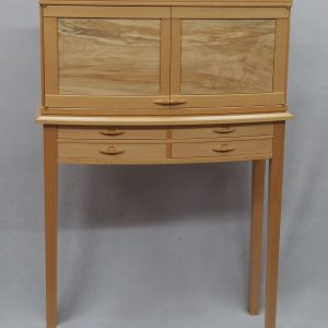 Cabinet on Stand in Maple and Beech