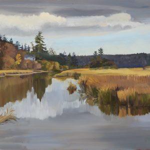 Khenipsen Estuary in Fall
