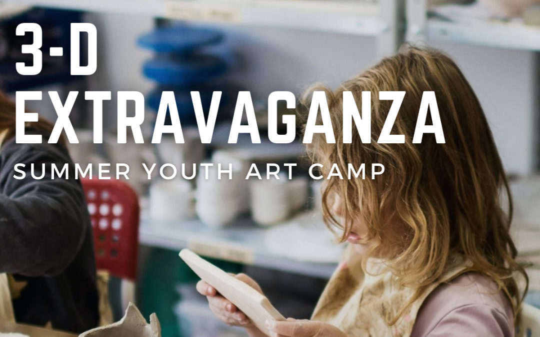 Kids Camp – 3-D Extravaganza Ages 6 – 10
